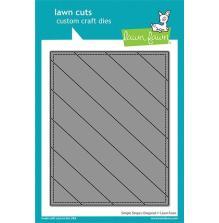 Lawn Fawn Dies - Simple Stripes Diagonal
