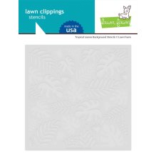 Lawn Fawn Stencils - Tropical Leaves Background