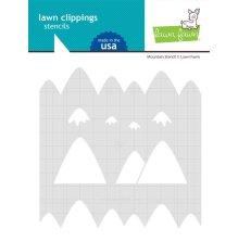 Lawn Fawn Stencils - Mountain