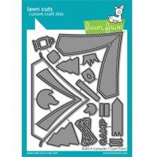 Lawn Fawn Dies - Build-A-Campsite
