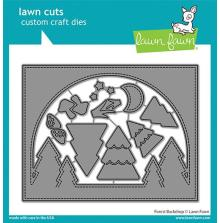 Lawn Fawn Dies - Forest Backdrop