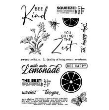 Simple Stories Clear Stamps - SV Lemon Twist
