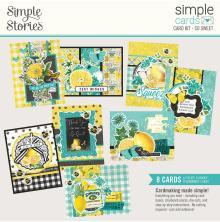 Simple Stories Simple Cards Kit - SV Lemon Twist