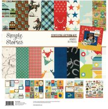 Simple Stories Collection Kit 12X12 - Howdy!
