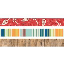 Simple Stories Washi Tape 3/Pkg - Howdy!