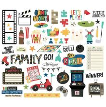 Simple Stories Bits & Pieces Die-Cuts 53/Pkg - Family Fun