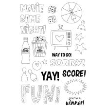 Simple Stories Clear Stamps - Family Fun