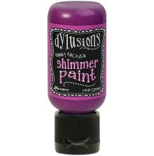 Dylusions Shimmer Paint 29ml - Funky Fuchsia