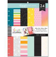 Me & My Big Ideas BIG Pre-Punched Cardstock - Bright Colors