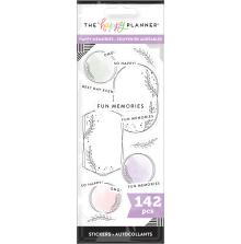 Me & My Big Ideas Stickers 142/Pkg - Happy Memories