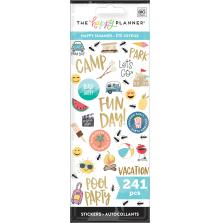 Me & My Big Ideas Stickers 241/Pkg - Happy Summer