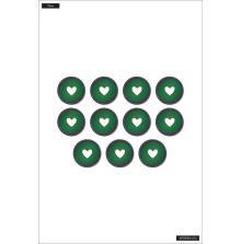 Me & My Big Ideas Planner CLASSIC Plastic Discs - Iridescent