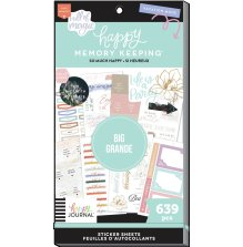 Me & My Big Ideas Happy Planner Stickers Value Pack - So Happy 639