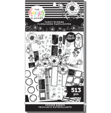 Me & My Big Ideas Happy Planner Stickers Value Pack - Fancy Blooms 513