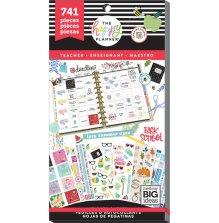 Me & My Big Ideas Happy Planner Sticker Value Pack - Teacher One Happy Year