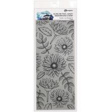 Simon Hurley create. Slimline Stamps - Fresh Cut Flowers