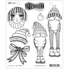 Dylusions Cling Stamps 8.5X7 - Any Old Elf