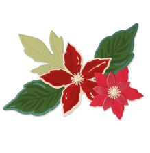 Sizzix Framelits Die & Stamp Set - Seasonal Flowers