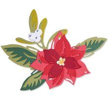 Sizzix Thinlits Dies - Layered Christmas Flower