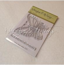 hÄnglar & Wings Clear Stamps - Fjäril A7