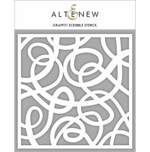 Altenew Stencil 6X6 - Grafitti Scribble