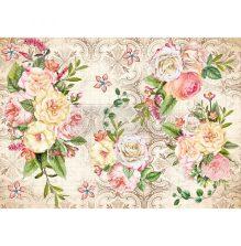 Prima Redesign Rice Paper 11.5X16.25 - Amiable Roses
