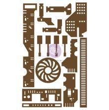 Prima Laser Cut Chipboard 15/Pkg - All The Parts