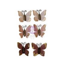 Prima Sharon Ziv Mulberry Paper Flowers 6/Pkg - Butterfly Chase