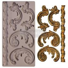Prima Redesign Mould 5X10 - Lilian Scrolls