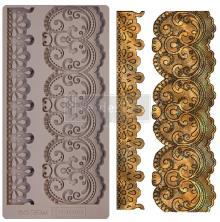 Prima Redesign Mould 5X10 - Border Lace