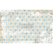 Prima Re-Design Decoupage Tissue Paper 19X30 - Distressed Deco