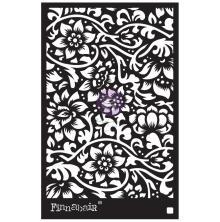 Prima Finnabair Stencil 6X9 - Bindweed Wallpaper