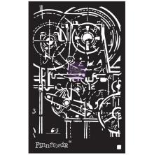 Prima Finnabair Stencil 6X9 - Machinery