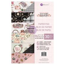 Prima Double-Sided Paper Pad A4 30/Pkg - Hello Pink Autumn