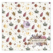 Prima 12X12 Acetate - Hello Pink Autumn