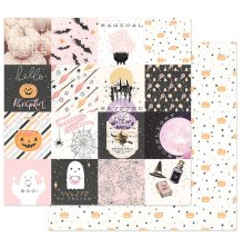 Prima Thirty-One By Frank Garcia Cardstock 12X12 - Magical Haunt