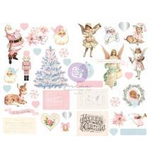 Prima Chipboard Stickers 37/Pkg - Christmas Sparkle By Frank Garcia