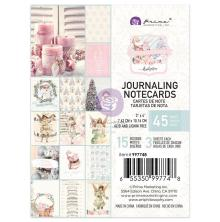 Prima Journaling Cards 3X4 45/Pkg - Christmas Sparkle By Frank Garcia