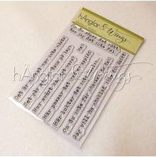 hÄnglar & Wings Clear Stamps - Jättesnorkigt #2