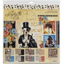 Graphic 45 Collection Pack 12X12 - Well Groomed