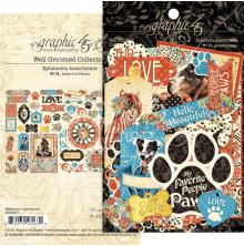 Graphic 45 Cardstock Die-Cuts - Well Groomed