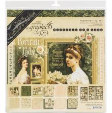 Graphic 45 Deluxe Collectors Edition Pack 12X12 - Portrait Of A Lady
