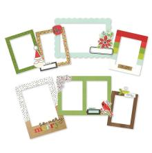 Simple Stories Layered Frames 6/Pkg - Make It Merry