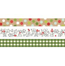 Simple Stories Washi Tape 3/Pkg - Make It Merry