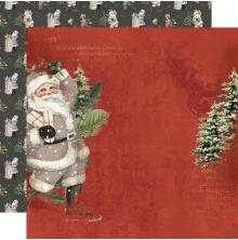 Simple Stories SV Rustic Christmas Cardstock 12X12 - Jolly Good