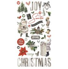 Simple Stories Chipboard Stickers 6X12 - SV Rustic Christmas