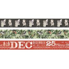 Simple Stories Washi Tape 3/Pkg - SV Rustic Christmas