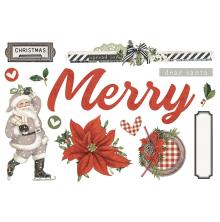 Simple Stories Simple Page Pieces - SV Rustic Christmas