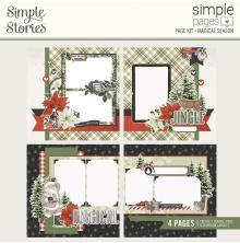 Simple Stories Simple Page Kit - SV Rustic Christmas Magical Season