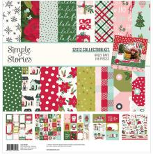 Simple Stories Collection Kit 12X12 - Holly Days